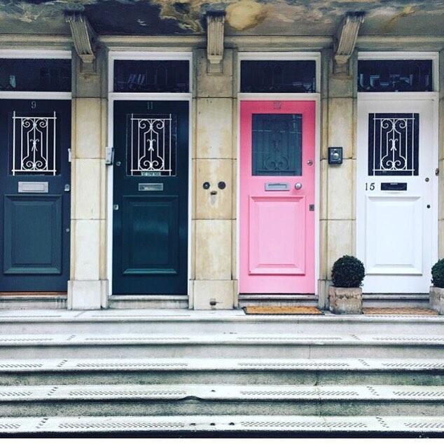 An array of pretty doors!